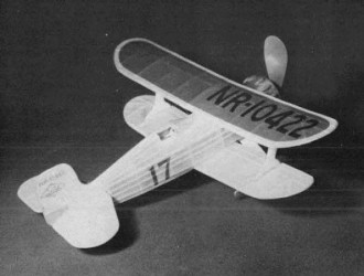 Laird LC-DE model airplane plan