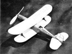 Laird LC-DE Speedwing model airplane plan