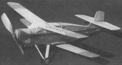 Lemberger LD-20b model airplane plan