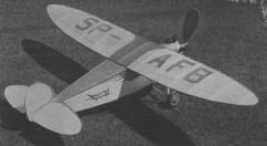 Lublin R-XII model airplane plan