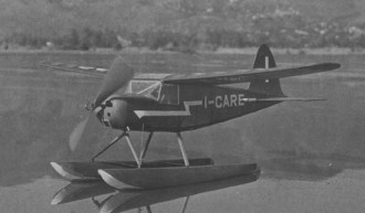 Macchi MB 308 model airplane plan