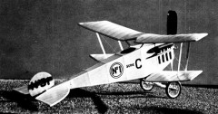 Microplano Veloz model airplane plan