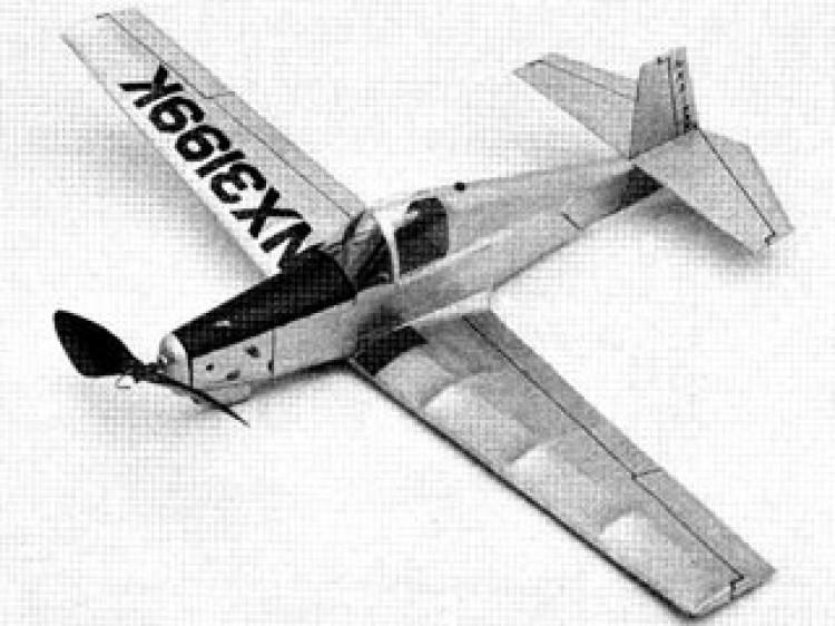 Mooney M-18 Mite model airplane plan