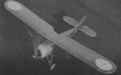 Morane Saulnier MS 50C model airplane plan
