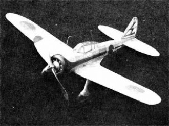 Nakajima Ki-27  model airplane plan