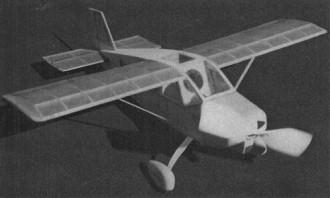 Ol Irosides model airplane plan