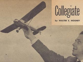 Porterfield Collegiate model airplane plan