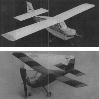Quail model airplane plan