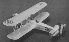 Saiman 200 model airplane plan