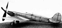 Spitfire Speed 1939 model airplane plan