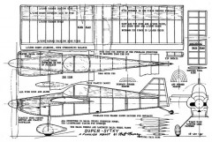 PIK 21 Super Sytky (13in) model airplane plan
