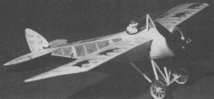 Thulin K model airplane plan