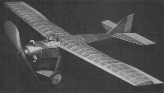 Tupolev ANT-2 model airplane plan