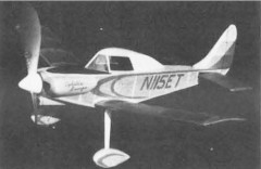 Turner T-40 model airplane plan
