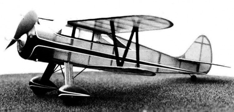Waco SRE model airplane plan