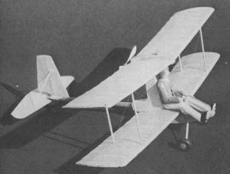 Wing Ding model airplane plan