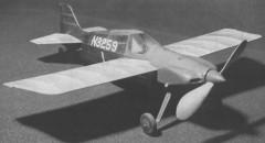 Wittman VW Racer model airplane plan