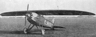 Albert TE-1 model airplane plan