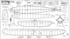 Fillon 1937 Wakefield model airplane plan