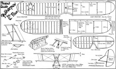 Polikarpov Po-2 model airplane plan