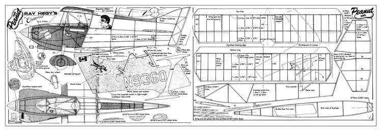 Chuparosa model airplane plan