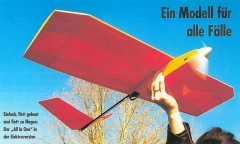 AIO model airplane plan