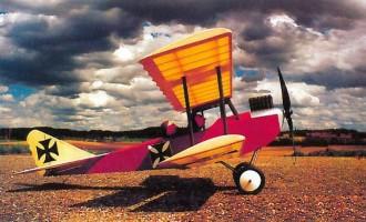 Aviatic-E model airplane plan
