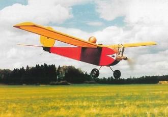 Aviette model airplane plan