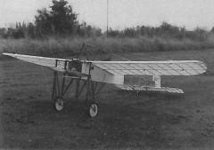 Bleriot XI 1909 model airplane plan