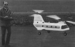 Boeing Vertol 107 model airplane plan