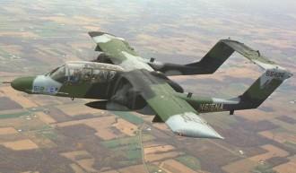 Bronco OV 10 model airplane plan