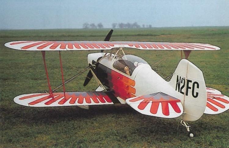 Christen Eagle II model airplane plan
