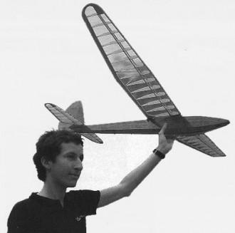 DG-67 model airplane plan