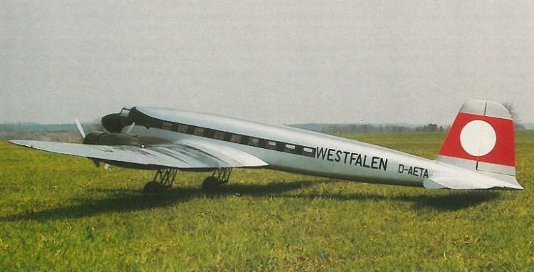 FW 200 Condor model airplane plan
