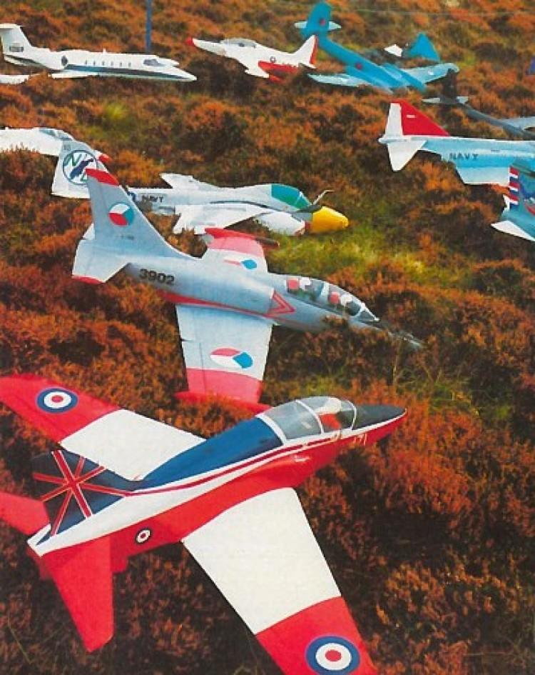 F 86 Sabre model airplane plan