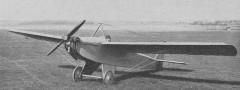 Farman Moustique model airplane plan