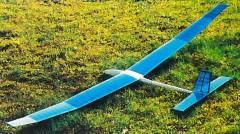 Larus model airplane plan