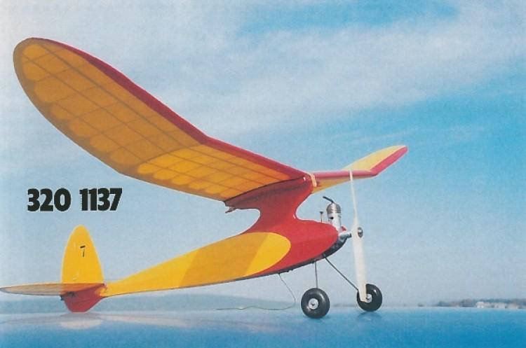 Mini Playboy model airplane plan