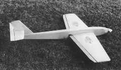 Mini Schwalbe model airplane plan