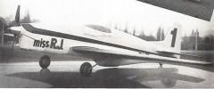 Miss R.J. model airplane plan