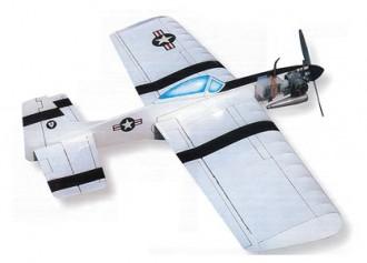 Mustang model airplane plan