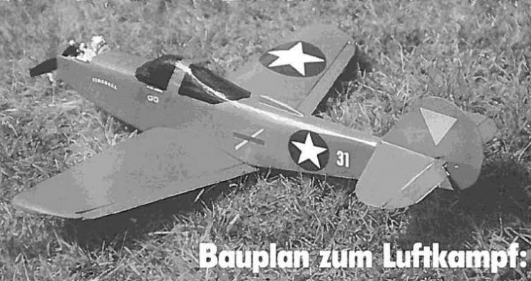 P-39 Airacobra model airplane plan
