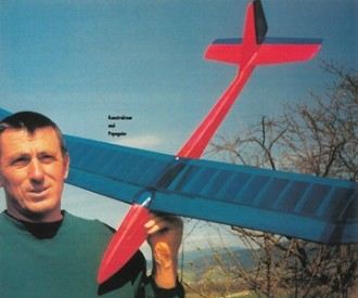 Papageier model airplane plan