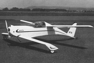 Quickie model airplane plan