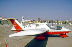 RFB Fanliner model airplane plan