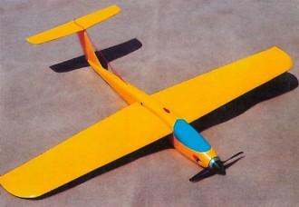 Reflex II model airplane plan