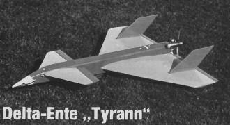Tyrann model airplane plan