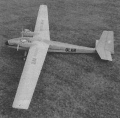 Ulan RS 40 model airplane plan
