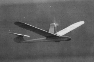 Ulmer Spatzle model airplane plan