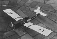 Volksplane model airplane plan
